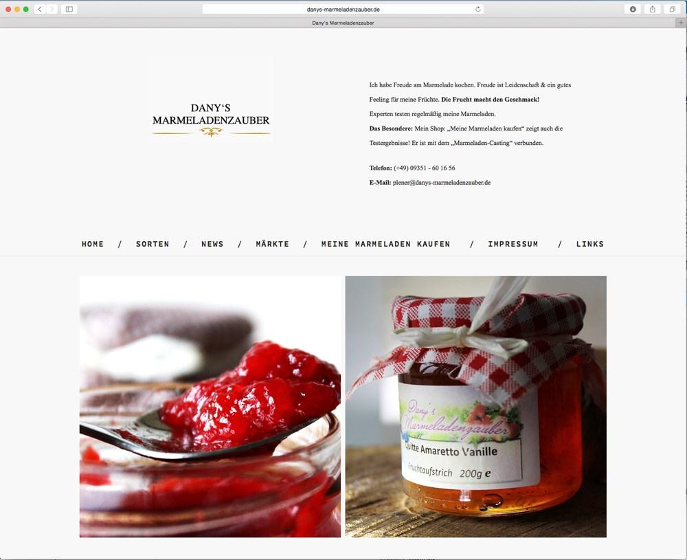 danys-marmeladenzauber Website