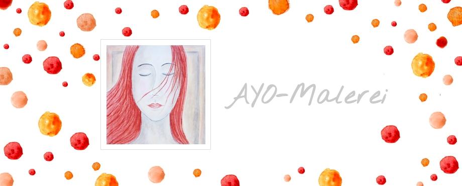 Ayo-Malerei - Grafische Header Gestaltung
